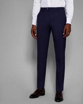 at Ted Baker Ted Baker VIDEBT Debonair slim check trousers