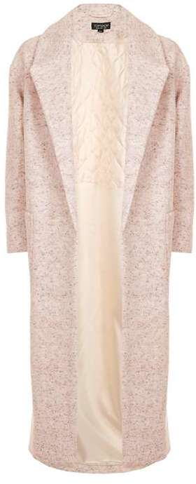 TopshopTopshop Flecked slouch coat