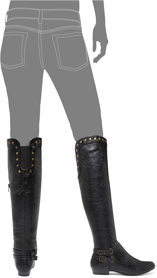 White Mountain Cliffs by Flossy Over the Knee Boots