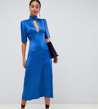 Fashion Union Tall high neck midi dress