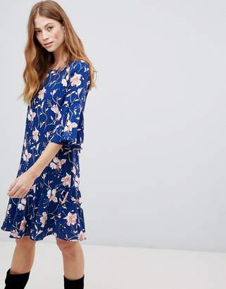 Vila Floral Drop Waist Dress