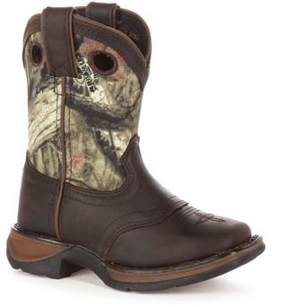 Durango Lil Sadle Kids Camouflage Western Boots