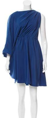 Maison Margiela Draped Asymmetrical Dress