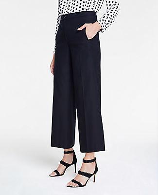 Ann Taylor The Petite Wide Leg Marina Pant