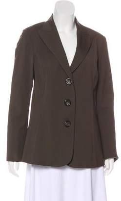 Lafayette 148 Virgin Wool Single-Breasted Blazer