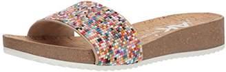 Anne Klein AK Sport Women's QTEE Slide Sandal
