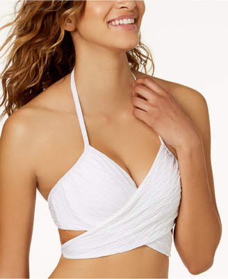 Sundazed Simone Bra-Sized Underwire Wrap Bikini Top, Created for Macy's Women's Swimsuit