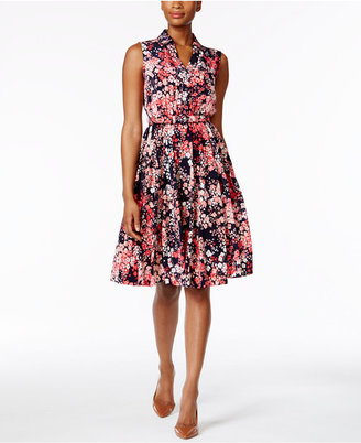 Charter Club Fit & Flare Shirtdress, Only at Macy's $99.50 thestylecure.com