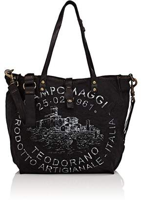 Campomaggi WOMEN'S LEATHER-TRIMMED TOTE BAG