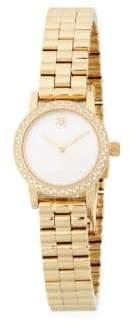 Agnes Slim Stainless Steel Analog Bracelet Watch