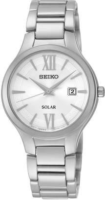 Seiko Women's Stainless Steel Solar Watch - SUT207