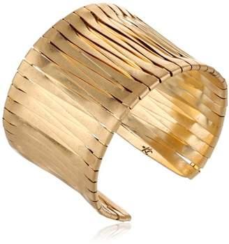 Kenneth Cole New York Tone Woven Cuff Bracelet