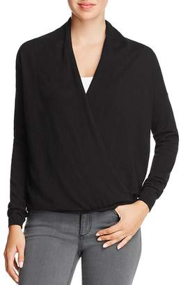 Joie Lien Crossover-Front Sweater