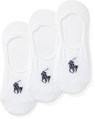 Ralph Lauren No-Show Liner Sock 3-Pack