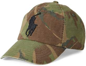 Polo Ralph Lauren Camo Canvas Baseball Cap