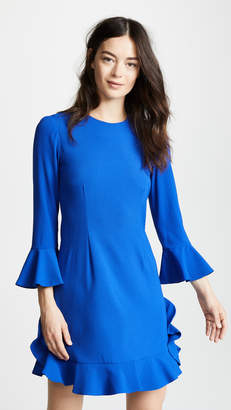 Jill Stuart Crew Neck Flare Dress