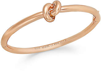Kate Spade Bracelet, Sailor's Knot Hinge Bangle Bracelet