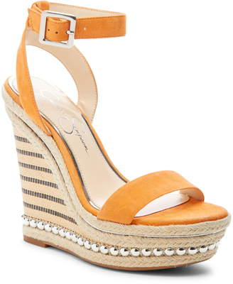 3adc05f7b8c Jessica Simpson Shoes Wedge Sandals - ShopStyle