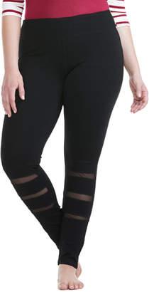 Electric Yoga Plus Mesh Legging