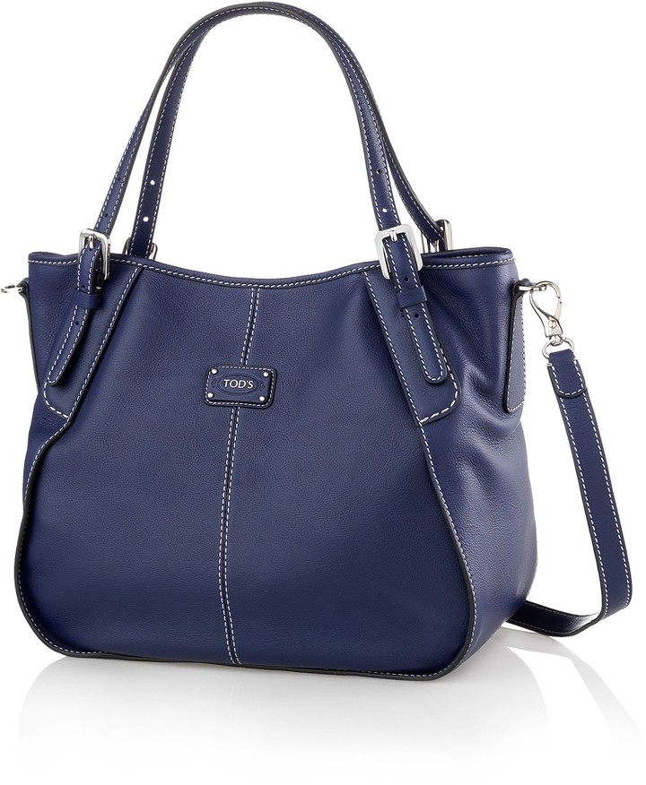 Tod's G-Line Small Canvas Tote Bag