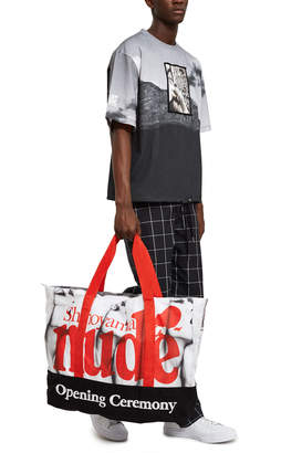 Opening Ceremony Shinoyama Large Nude Tote