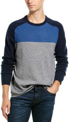 Autumn Cashmere Tricolor Sweater