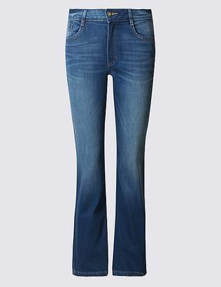 Marks and Spencer PETITE Slim Bootcut Jeans