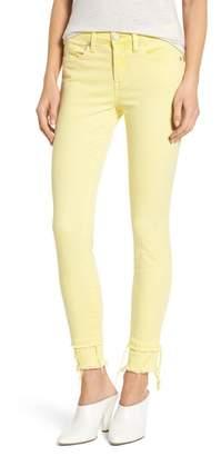 Blank NYC BLANKNYC The Reade Classic Crop Raw Edge Double Hem Jeans