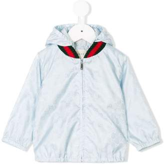 Gucci Kids monogram print jacket