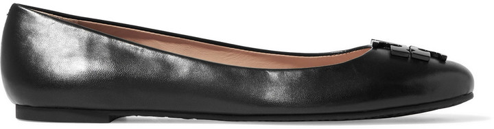 Tory Burch Tory Burch Lowell leather ballet flats