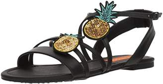 Rocket Dog Women's Hippy Smooth W/Pineapple Patch Sandal