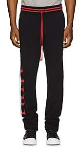 Amiri Men's Logo-Print Cotton Track Pants - Black