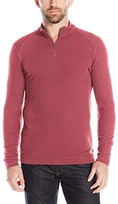 Agave Men's Malone Long Sleeve Half Zip T-Shirt