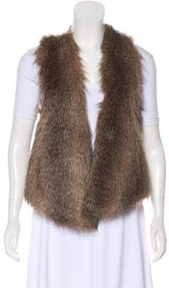 Ella Moss Faux Fur Open-Front Vest