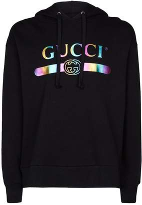 Gucci Oversized Logo Hoodie