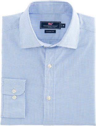 Vineyard Vines Tattersall Classic Fit Burgee Shirt