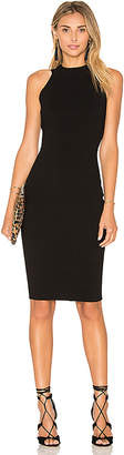 MILLY Structured Midi Dress in Black. - size L (also in )