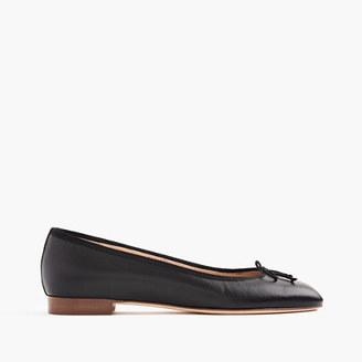 Kiki leather ballet flats $148 thestylecure.com