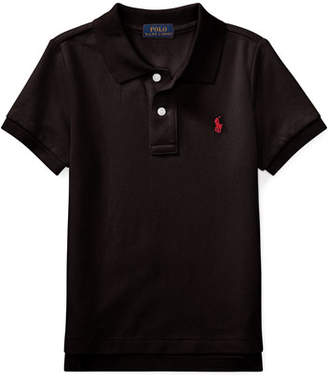 Ralph Lauren Childrenswear Short-Sleeve Logo Embroidery Polo Shirt, Size 2-3