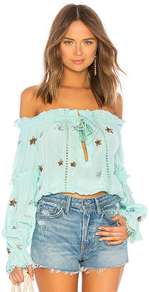 Rococo Sand x REVOLVE Off the Shoulder Top