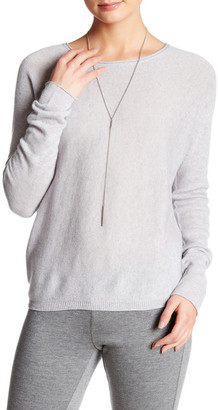 Inhabit Long Sleeve Cashmere Sweater $357 thestylecure.com