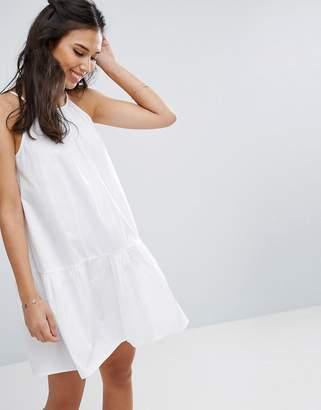 ASOS Drop Waist Sundress in Cotton $35 thestylecure.com