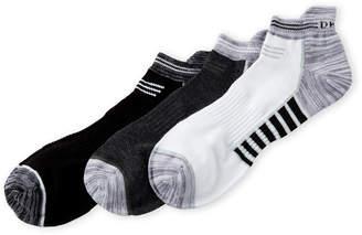 DKNY 3-Pack Space-Dye Tab Socks