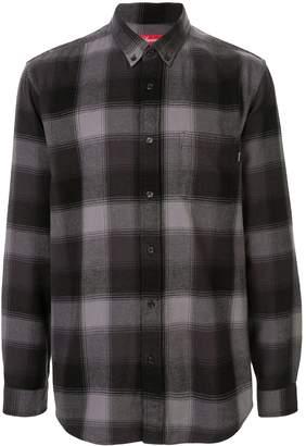 Supreme shadow plaid flannel shirt