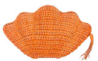 Kayu Jane Clamshell Clutch w/ Tags