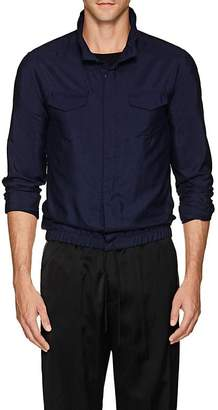 Giorgio Armani Men's Silk Shantung Blouson Shirt