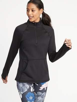 Old Navy Built-In Warm 1/4-Zip Pullover for Women