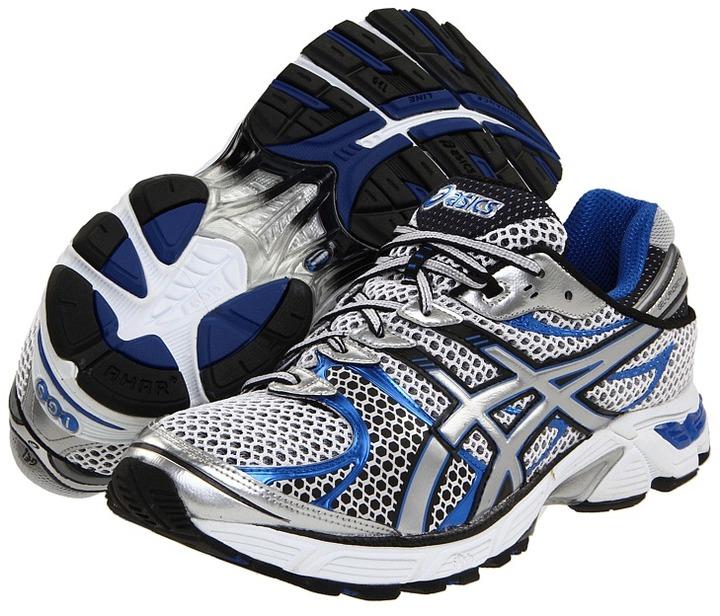 Asics GEL-Landreth 7 (White/Lightning/Royal) - Footwear