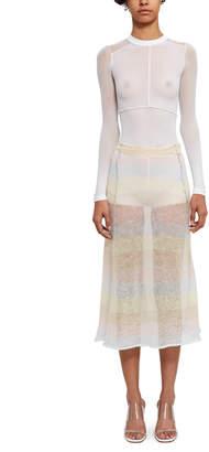 Acne Studios Knit Mohair Skirt