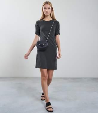 Reiss NATASHA CUPRO DAY-TO-NIGHT DRESS Slate